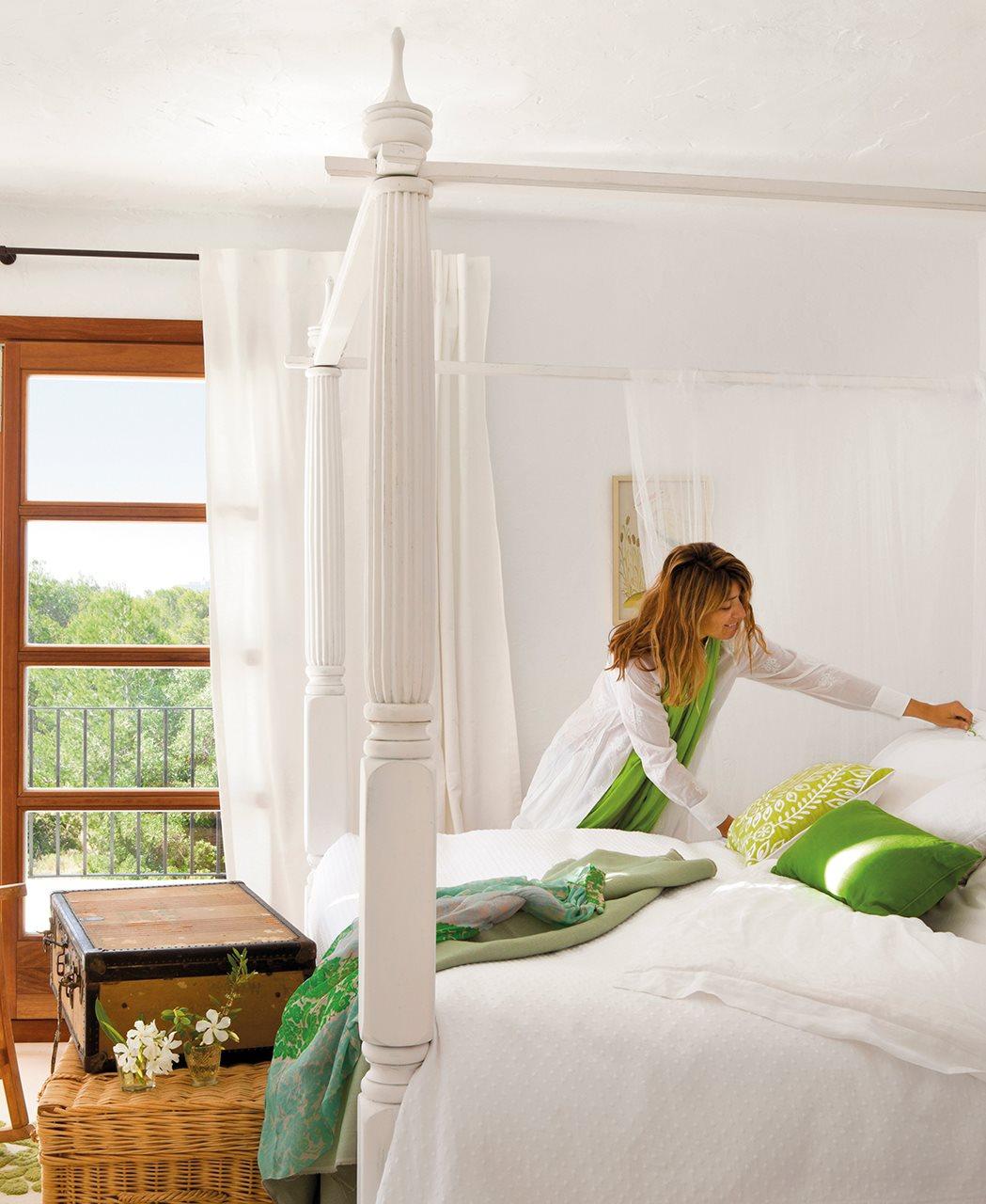 Ideas para dormitorios personalizados - Camas con cojines ...