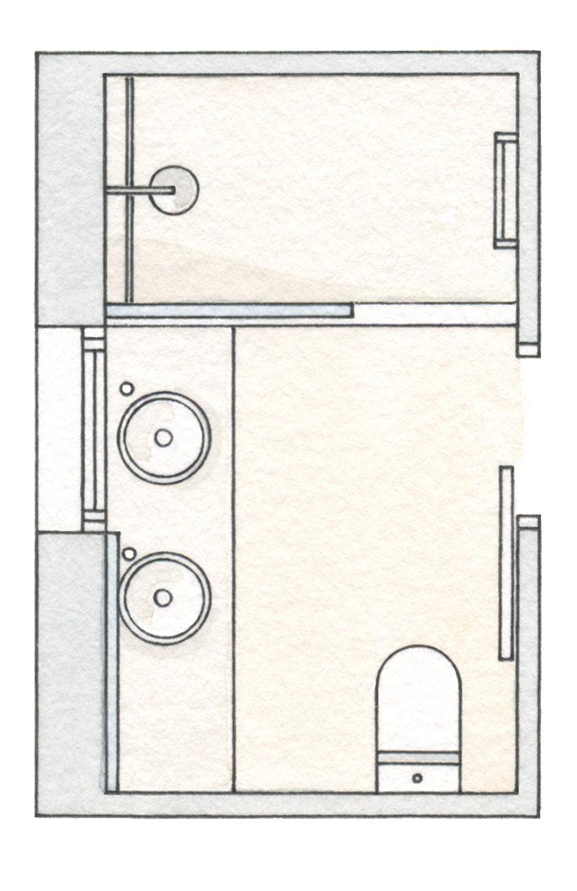 Baño Ducha Diferencia:baños pequeños con ducha