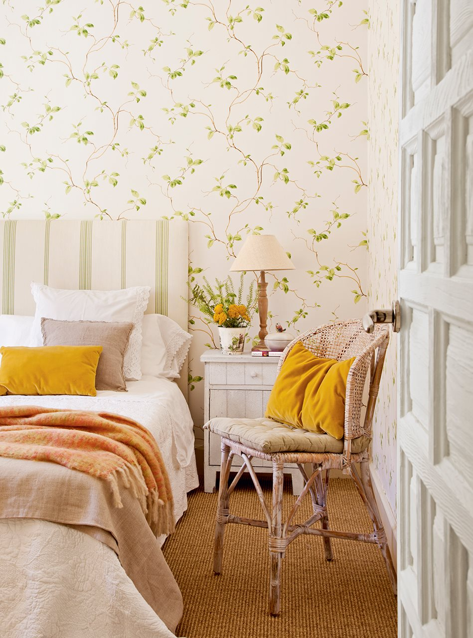 Ideas para dormitorios personalizados - Papel pared dormitorio ...
