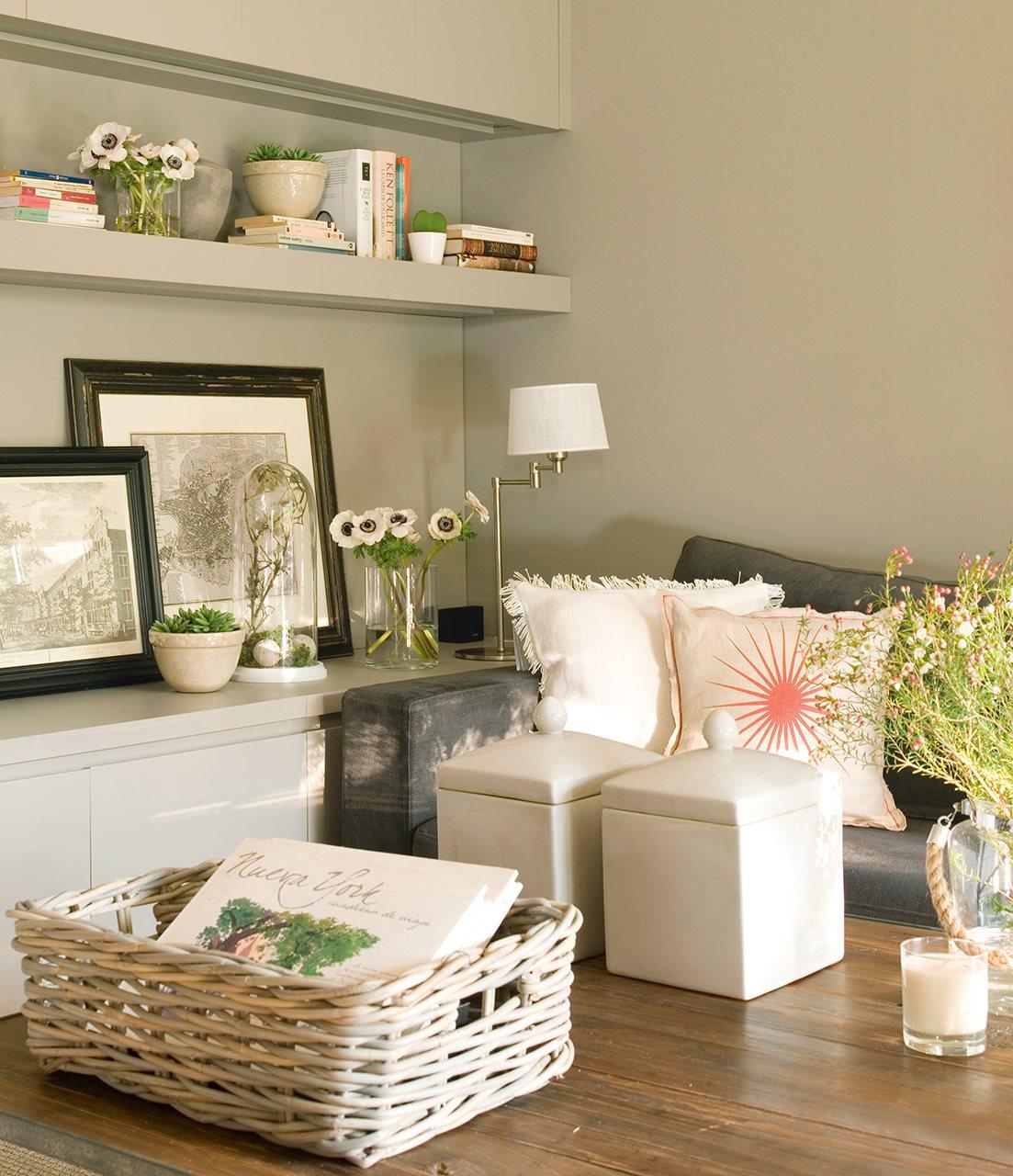 5 espacios mini que lo tienen todo for Decoracion con muchos cuadros