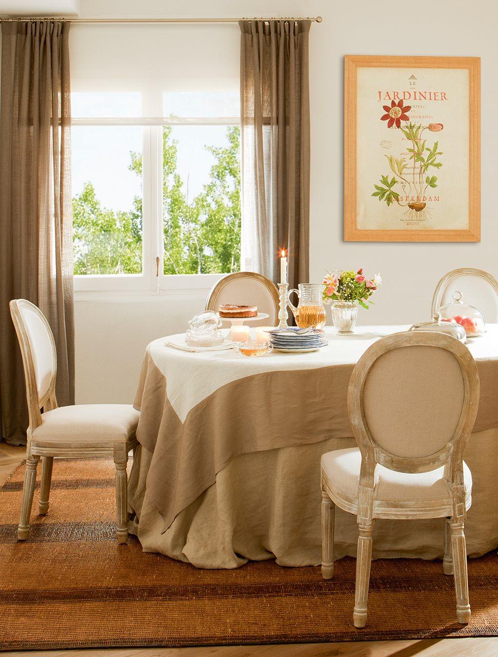 Cojines para mecedoras antiguas cheap silla mecedora for Sillas comedor polipiel beige