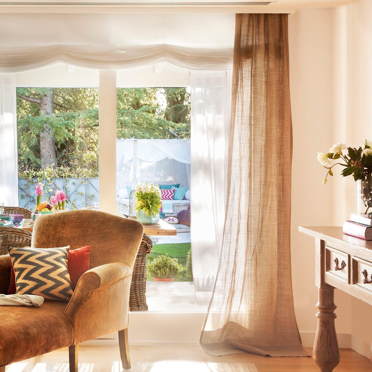 Elegir cortinas y acertar telas medidas y materiales - Decoracion de cortinas ...