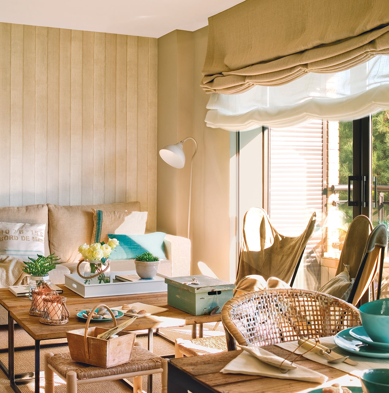 Elegir cortinas y acertar telas medidas y materiales - Decorar paredes con telas ...