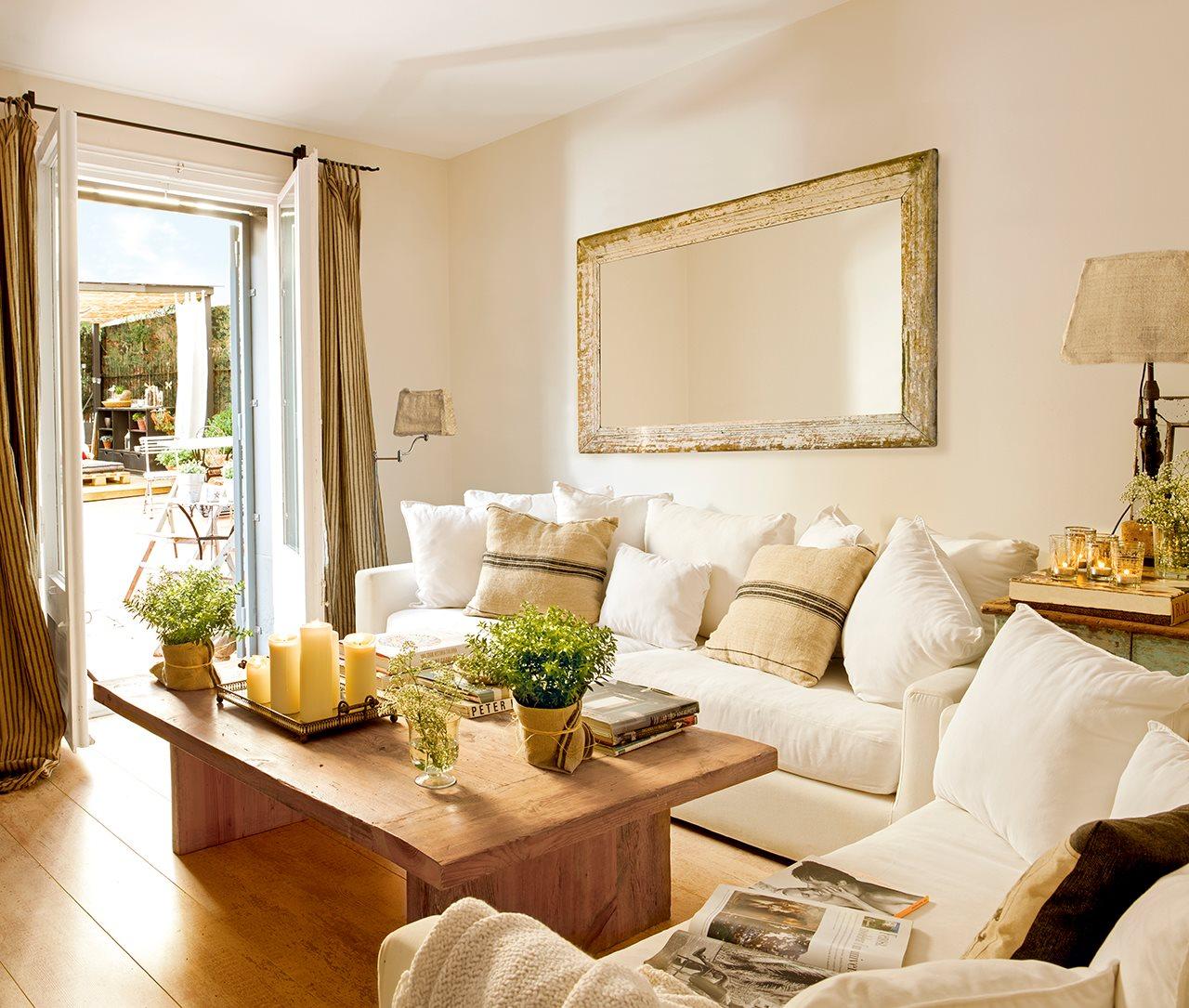 El gran cambio que se consigui con poco - Decorar muebles blancos ...