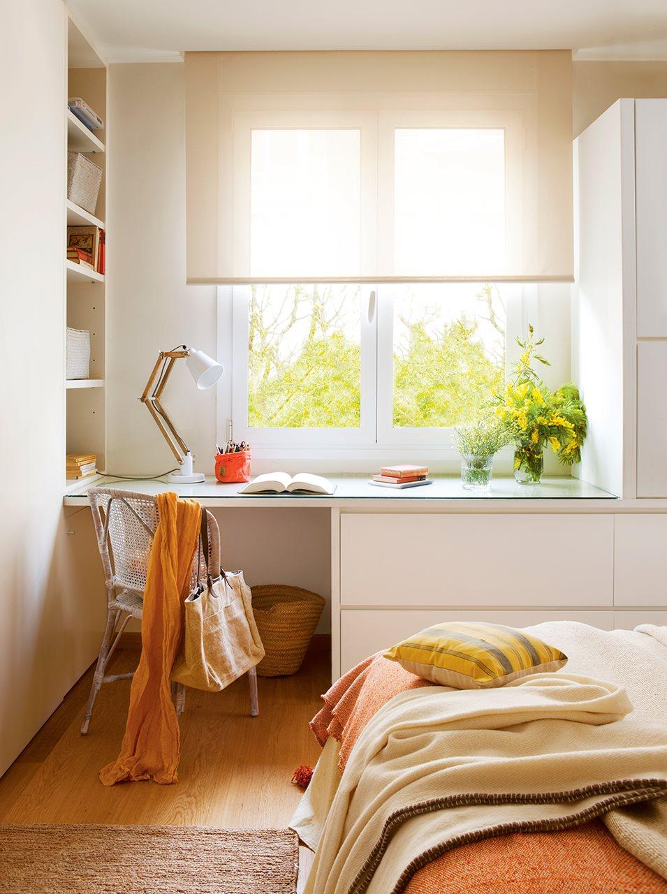 Elegir cortinas y acertar telas medidas y materiales - Cortinas dormitorio juvenil ...