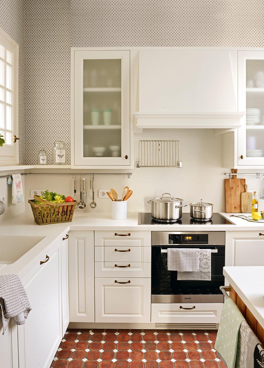 C mo es una cocina peque a bien aprovechada - Fotos de cocinas pequenas y modernas ...
