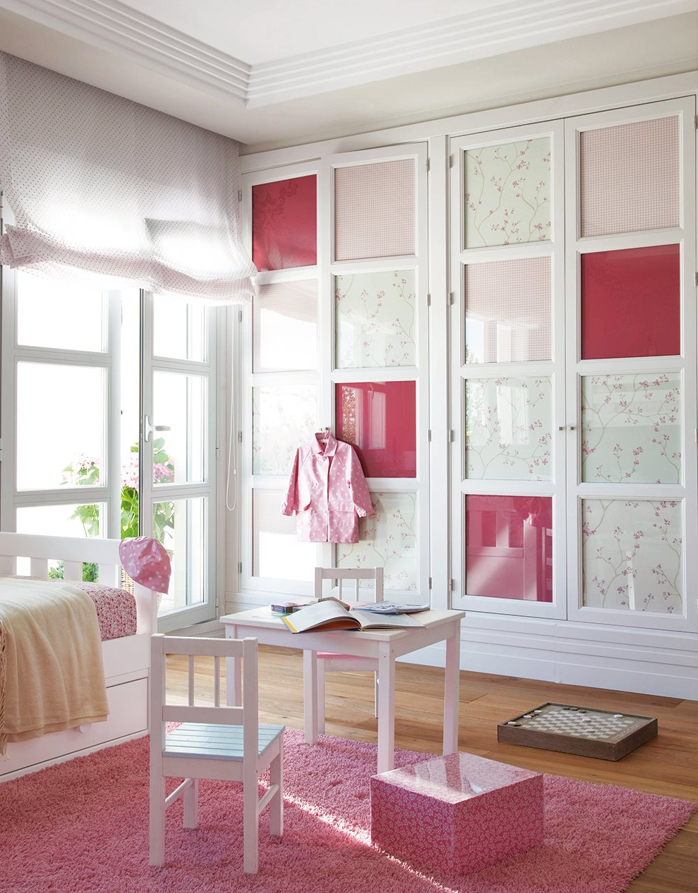 Ideas para decorar con telas - Decorar dormitorio blanco ...