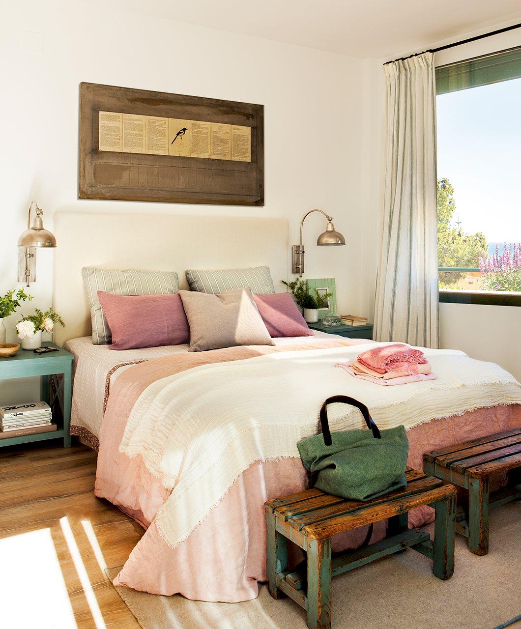 De duplex anticuado y oscuro a luminoso confortable y - Imagenes para dormitorios ...