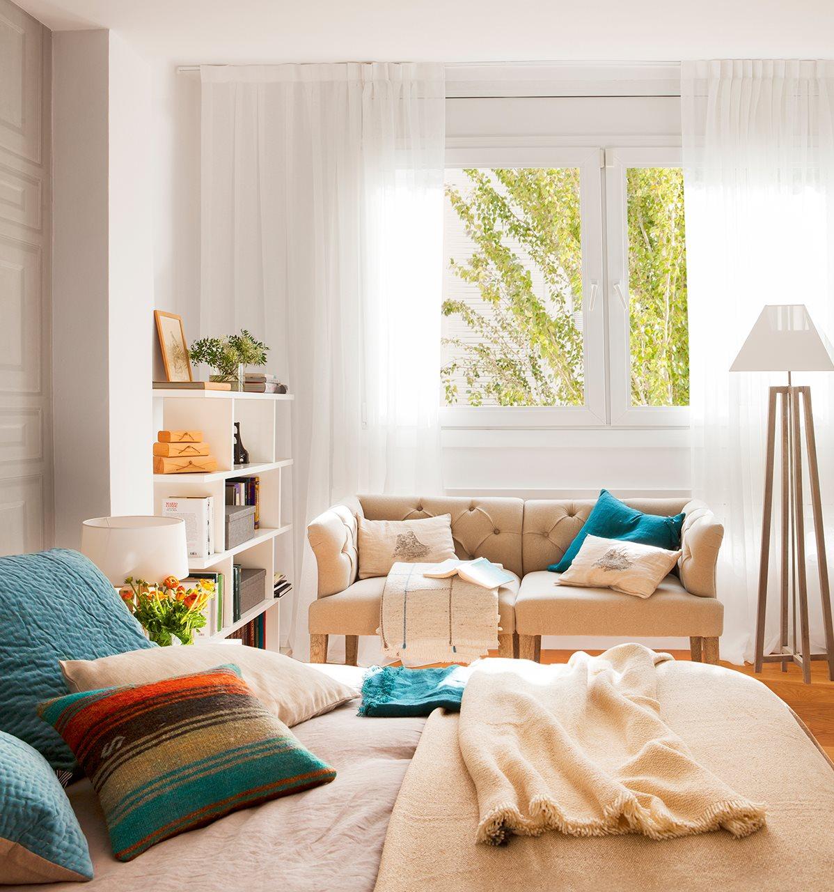 Ni obras ni grandes gastos pero a mi pinta - Sofa dormitorio ...