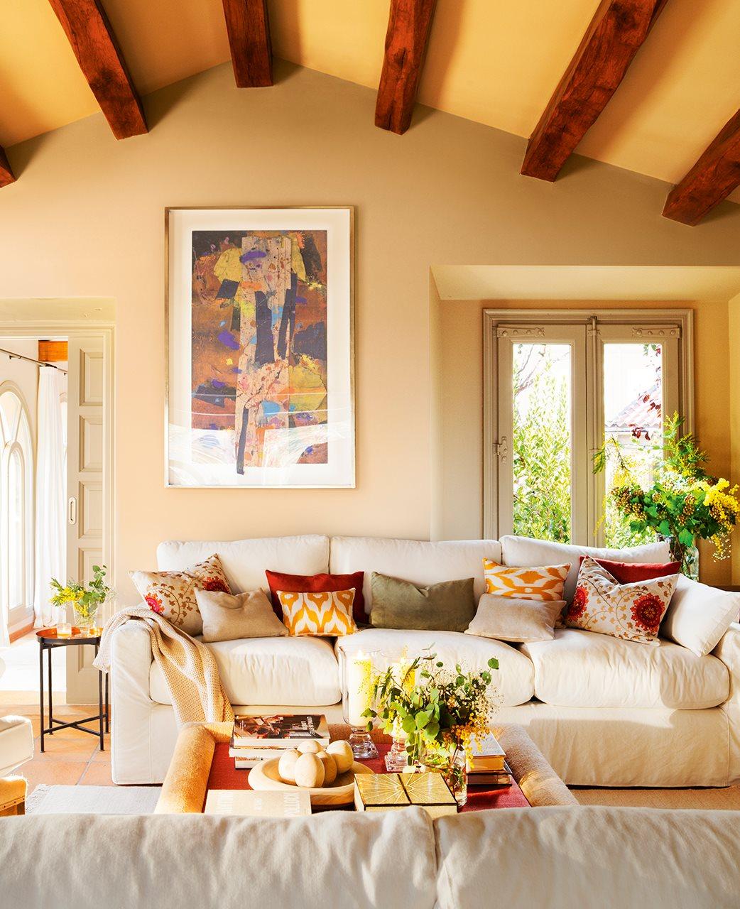 Una casa de campo en la costa brava - De decorar casas ...