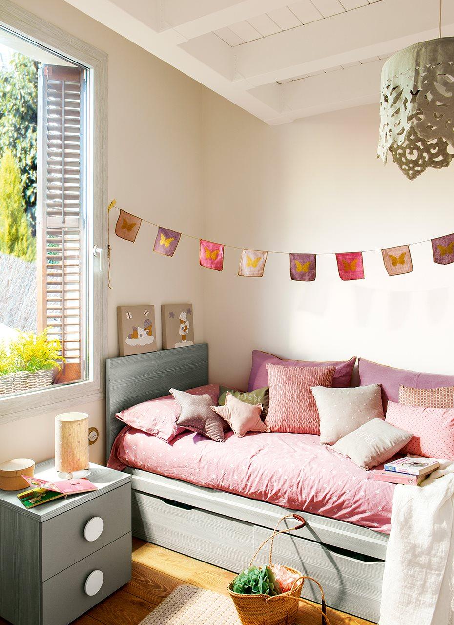A falta de interiorista yo misma - Dormitorio infantil nina ...