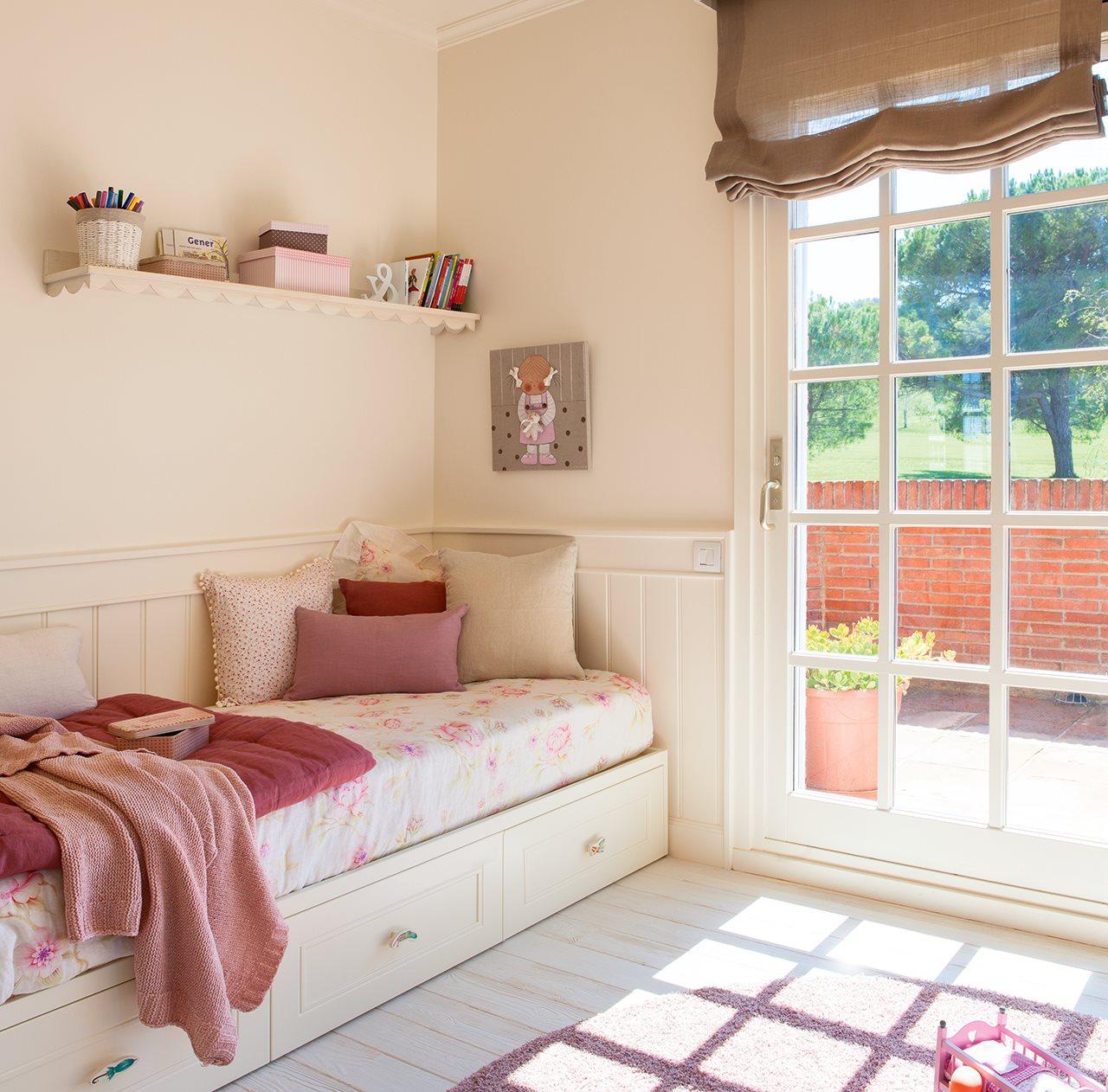 Una casa de inspiraci n estadounidense - Dormitorios infantiles con encanto ...