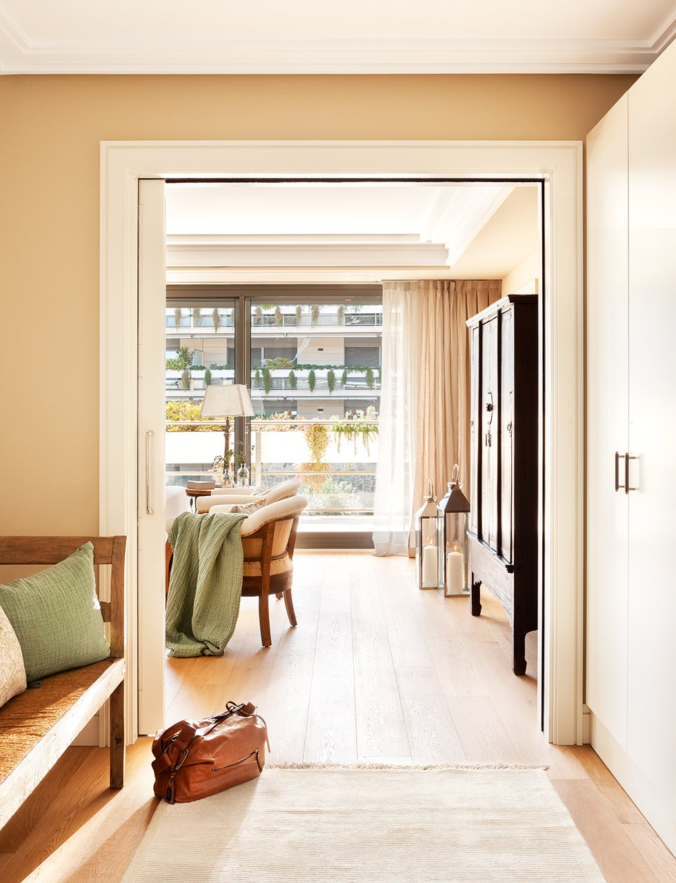 Aprovechar muebles mudanza - Puerta corredera doble ...