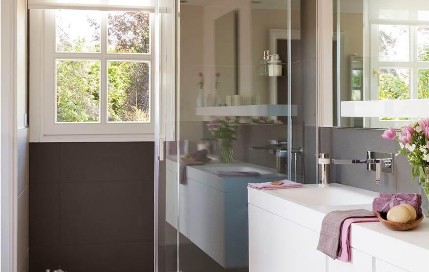 Una ducha peque a hazla c moda for Comodas pequenas