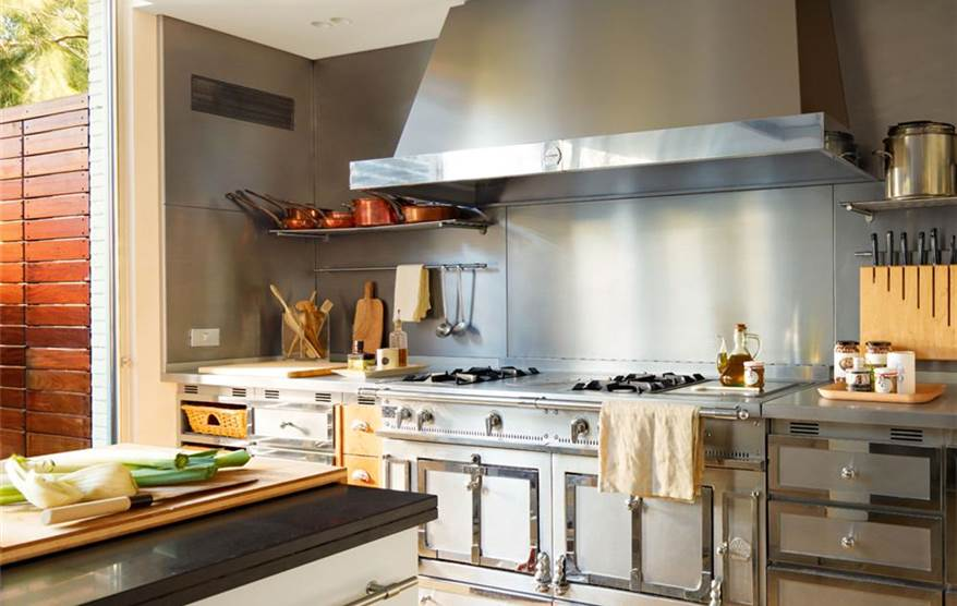 La cocina perfecta para una gran chef for Elementos de cocina para chef