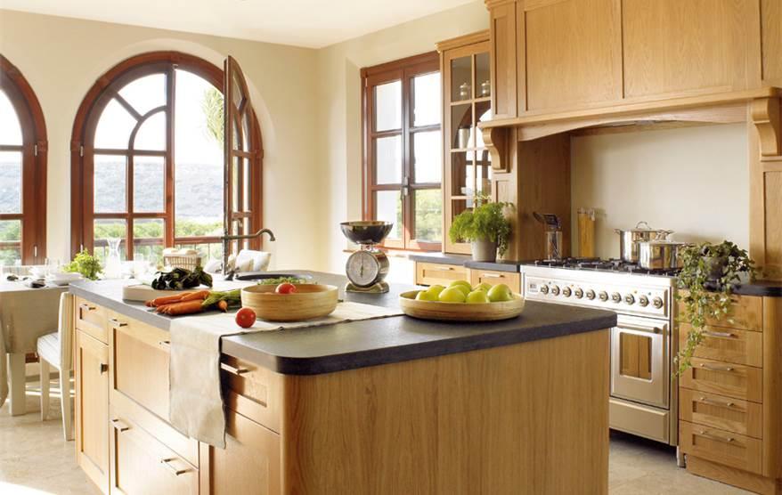 Las 9 cocinas de madera m s c lidas for Maderas para cocinas