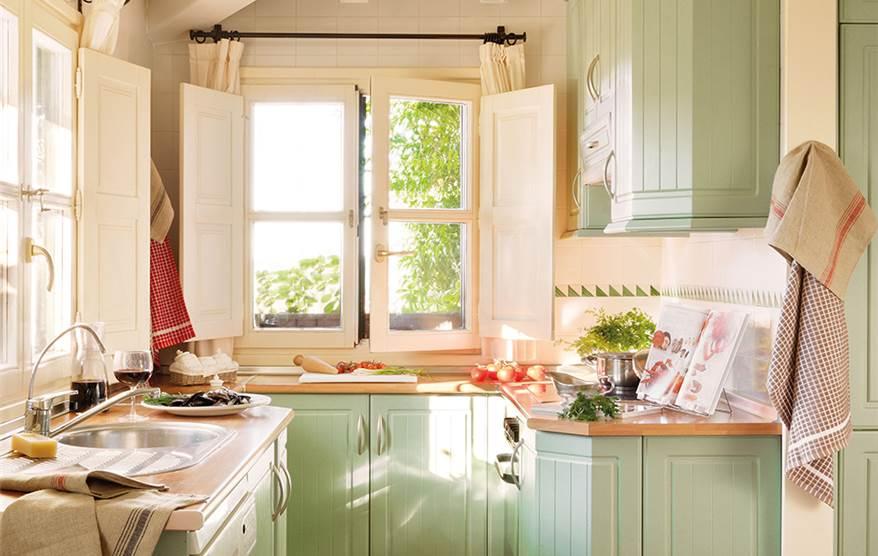 De 33 a 46 puntos da el paso y si ntete mejor en casa - Cocinas rusticas pequenas ...