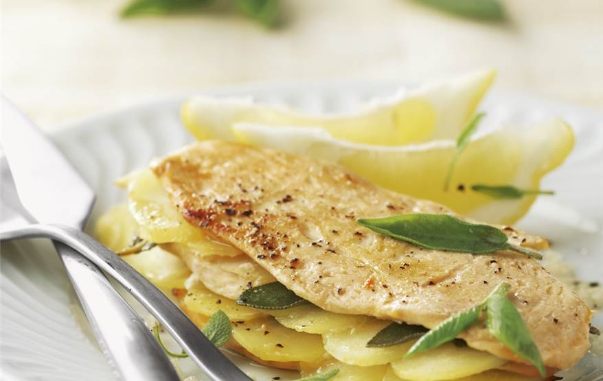 Pechuga de pollo al lim n - Pollo al limon isasaweis ...