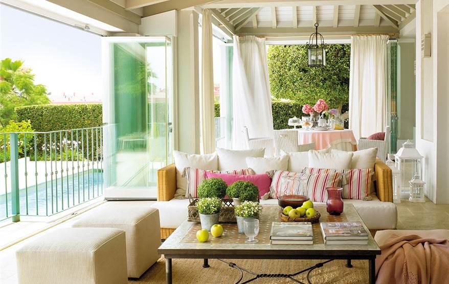 La terraza perfecta las claves de los expertos - Como cerrar un porche ...