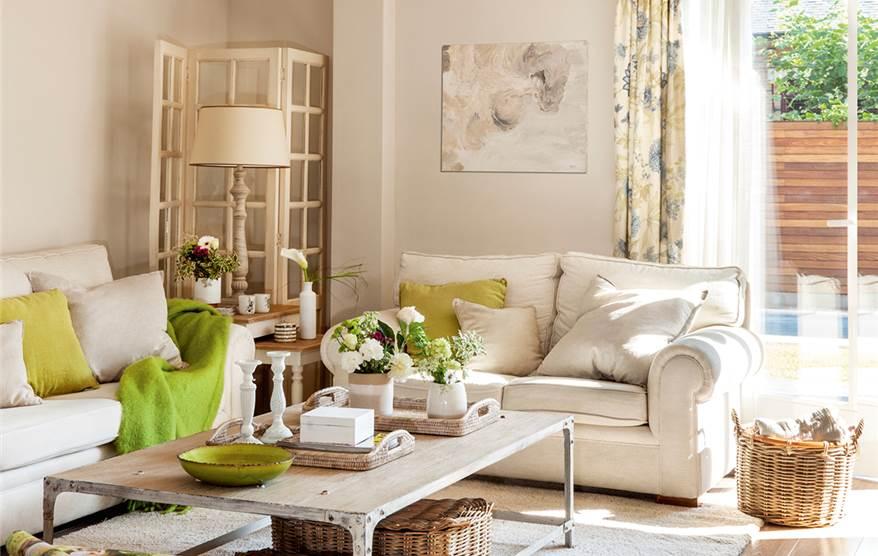 Casa acogedora y familiar - Cosas rusticas para decorar casa ...