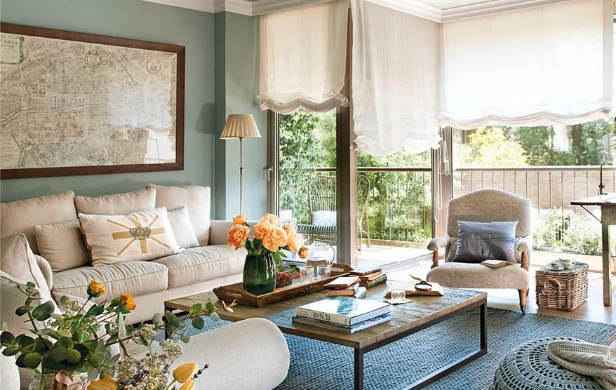 Baños Estilo Frances:Un piso de estilo francés para una familia numerosa