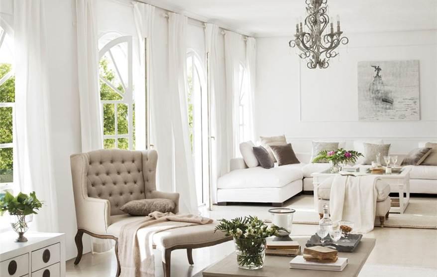 Una casa elogio de luz y blancura - Oficios de ayer muebles ...