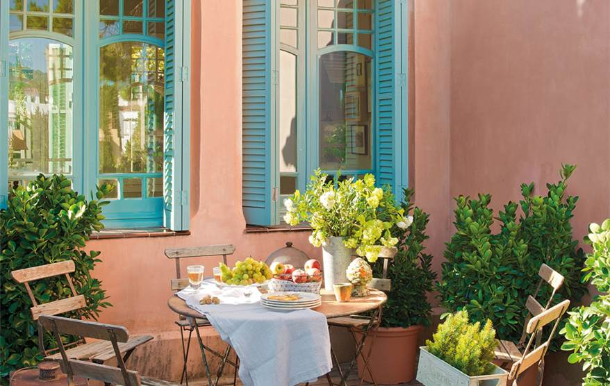 Saca partido a una terraza peque a - Pisos decorados con encanto ...