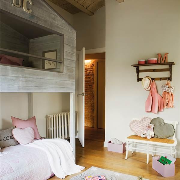 Soluciones para cuartos de ni os peque os - Soluciones para dormir ...