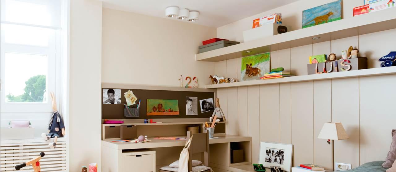 10 habitaciones para estudiar