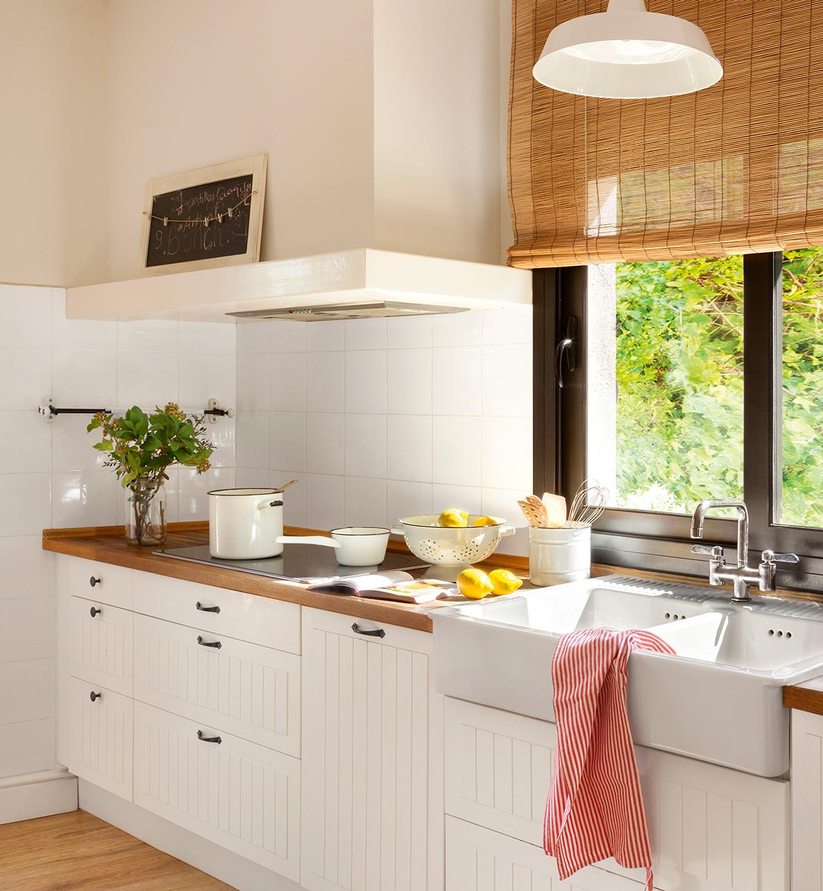 Muebles de cocina en madera zona oeste for Muebles de cocina zona norte