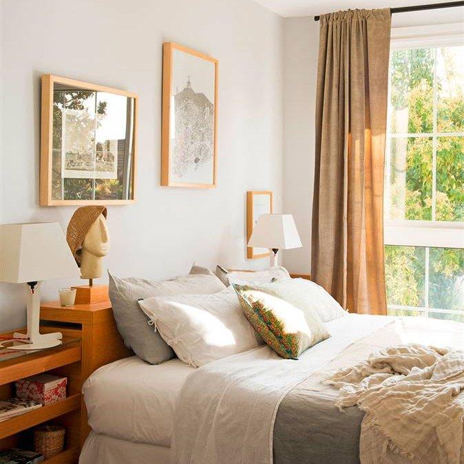 Paredes para dormitorios fabulous papeles de pared - Dormitorio pared gris ...