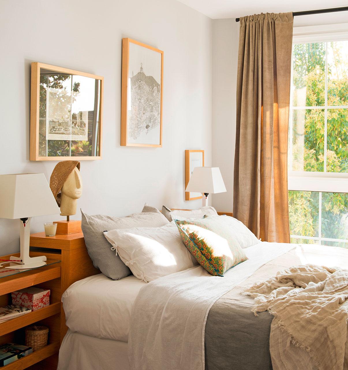 Dormitorios pr cticos y elegantes - Camas decoradas ...
