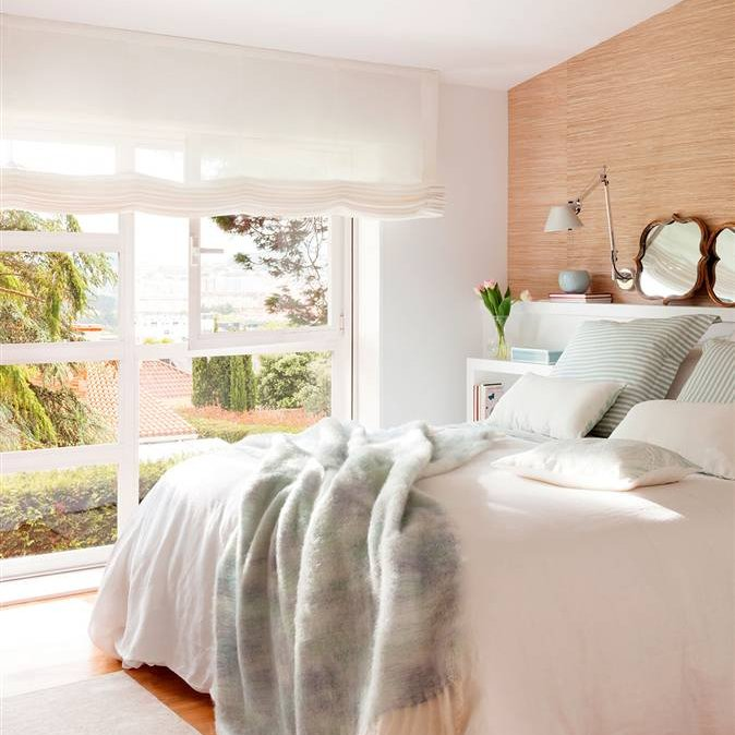Dormitorios pr cticos y elegantes - Dormitorios vintage blanco ...