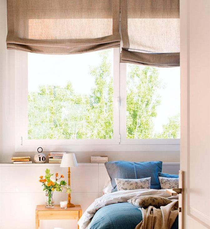 Cabeceros dormitorio arcn decoracin de dormitorios con - Cabeceros de madera a medida ...