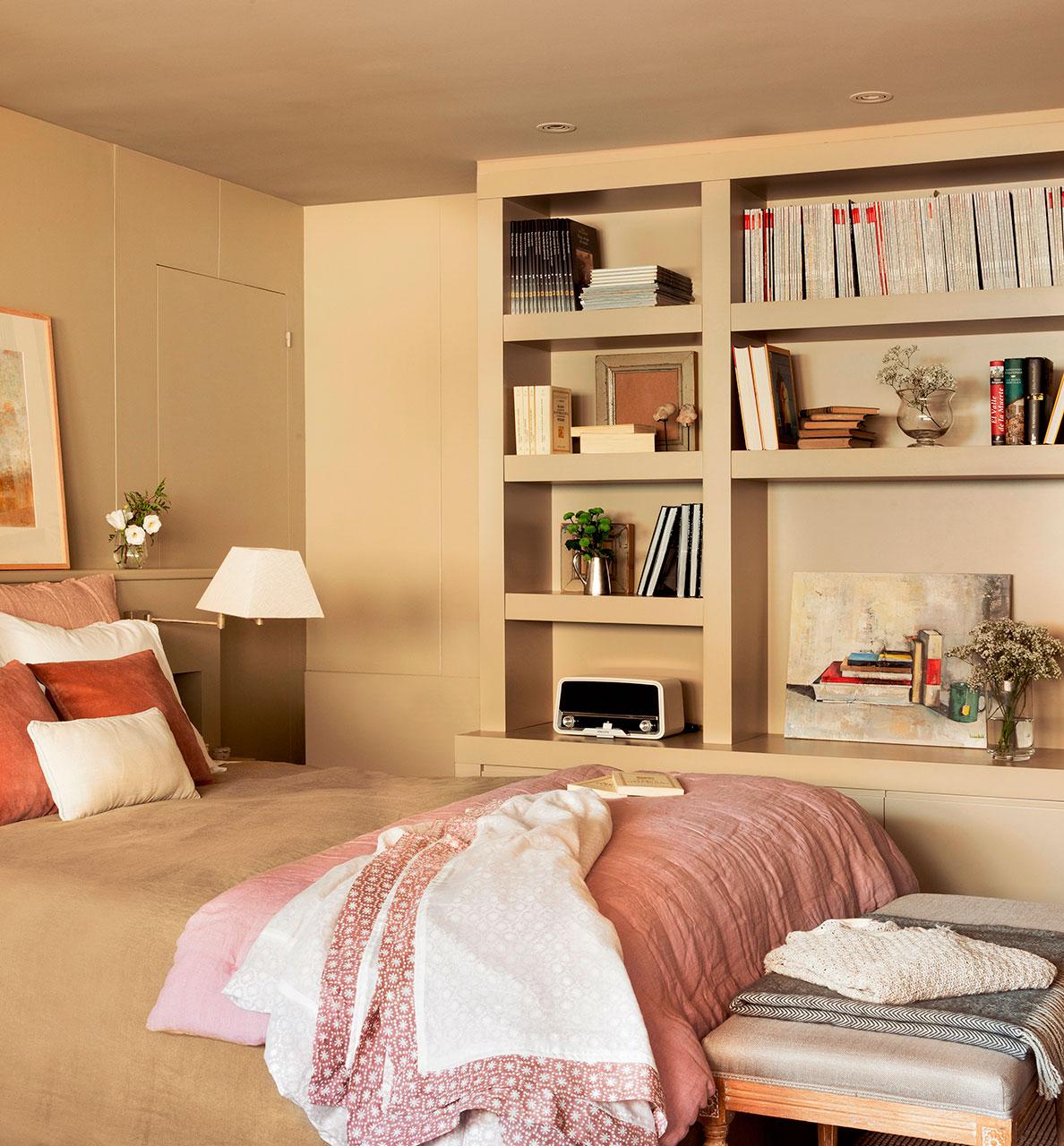 Dormitorios pr cticos y elegantes - Dormitorio beige ...