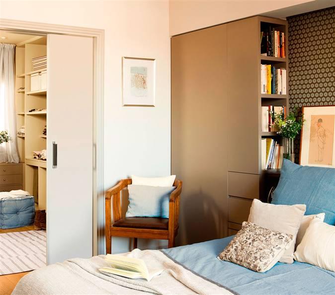 C mo conseguir almacenamiento extra en tu dormitorio - Como decorar cabeceros de cama ...