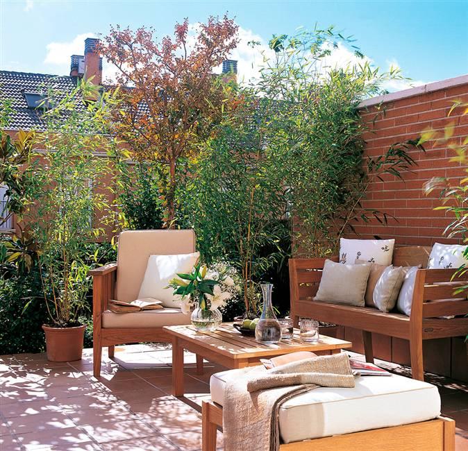 C mo conseguir una terraza perfecta for Plantas jardineras terraza