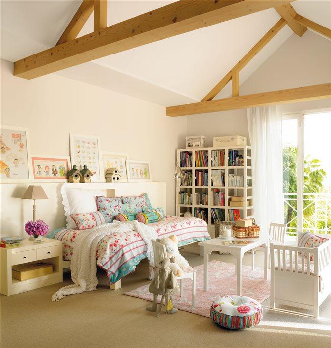 Organiza la habitaci n de los peques - Dormitorios infantiles con encanto ...