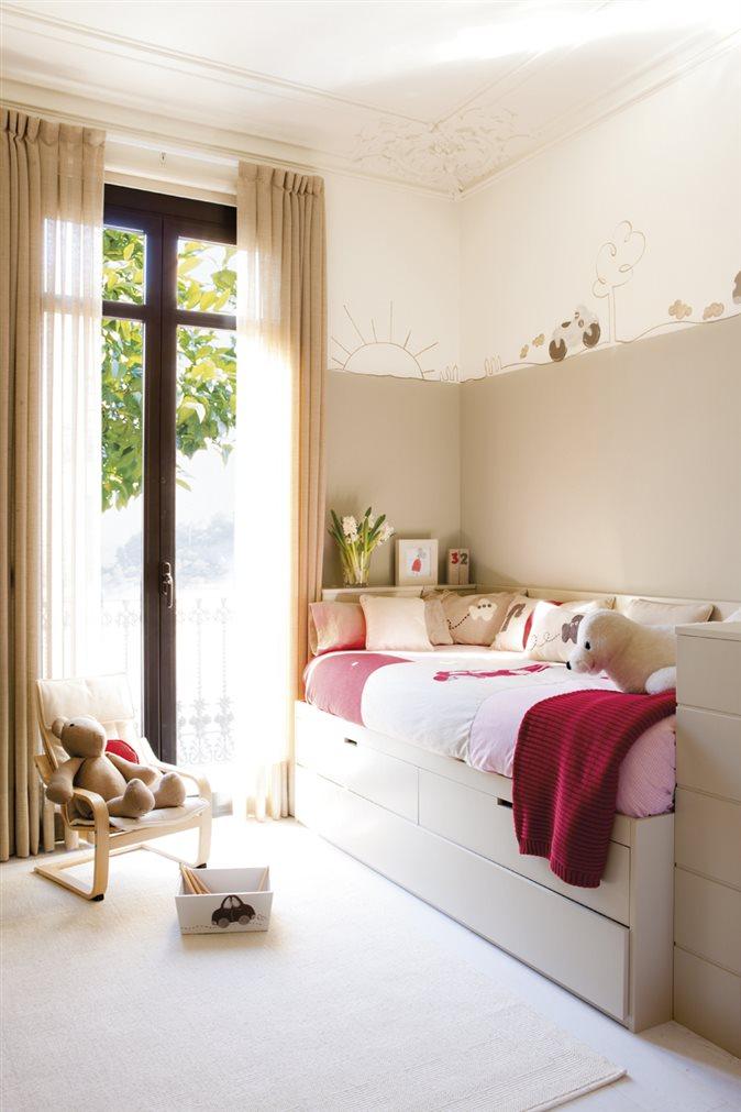 Ideas para mini habitaciones de ni os - Decorar habitaciones infantiles pequenas ...