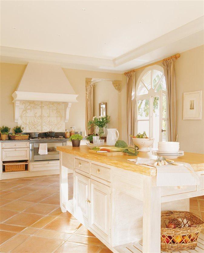 Encimeras naturales para tu cocina for Encimeras de madera para cocinas