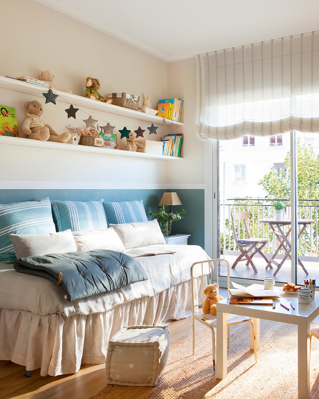 Un piso en barcelona tranquilo y luminoso - Dormitorios infantiles barcelona ...