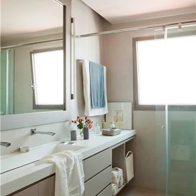 Muebles ba o - Muebles de bano con lavabo de cristal ...