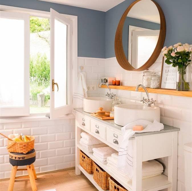 Decoracion De Baños Lavamanos:Anterior Un baño con bañera, ducha ¡y un vestidor! Cambia la