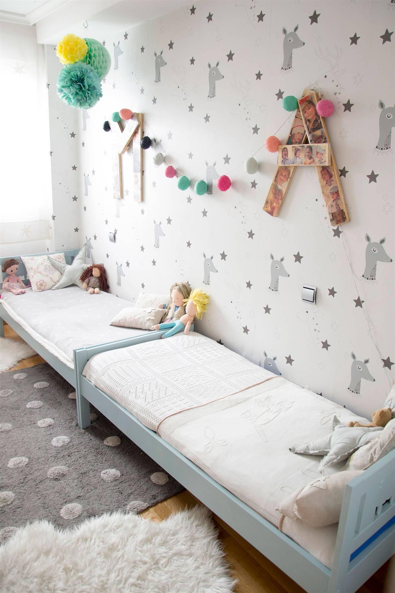 Las habitaciones de los hijos de 7 instagramers espa olas - Decoracion paredes habitacion nina ...