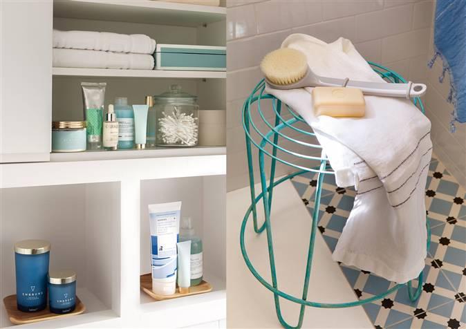 Ba os peque os que dan la talla c mo aprovechar bien el for Accesorios para poner toallas en el bano