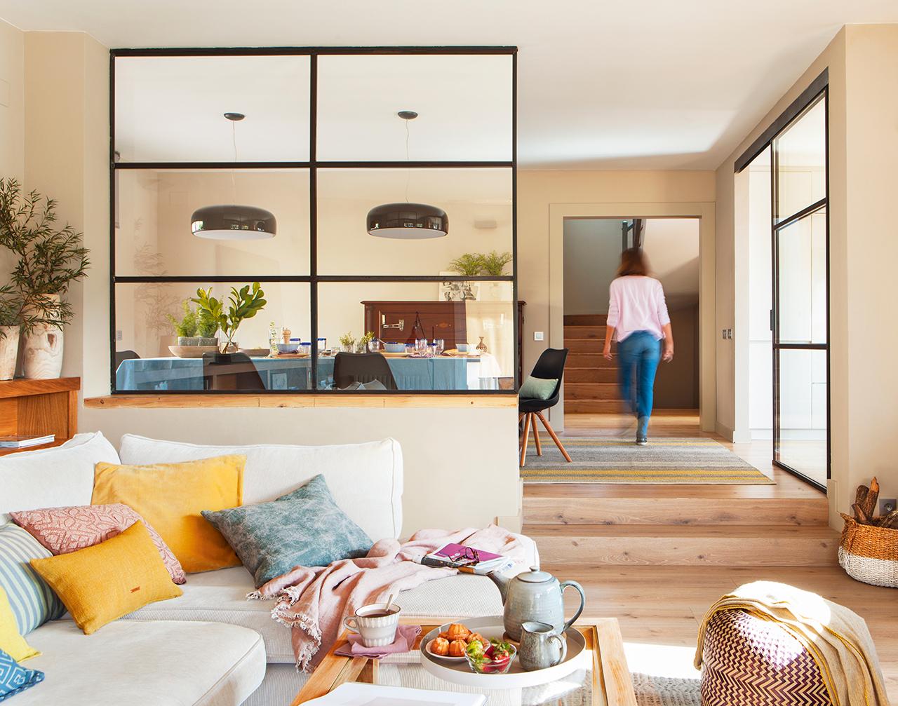 Una casa reci n reformada - Tirar paredes en un piso ...
