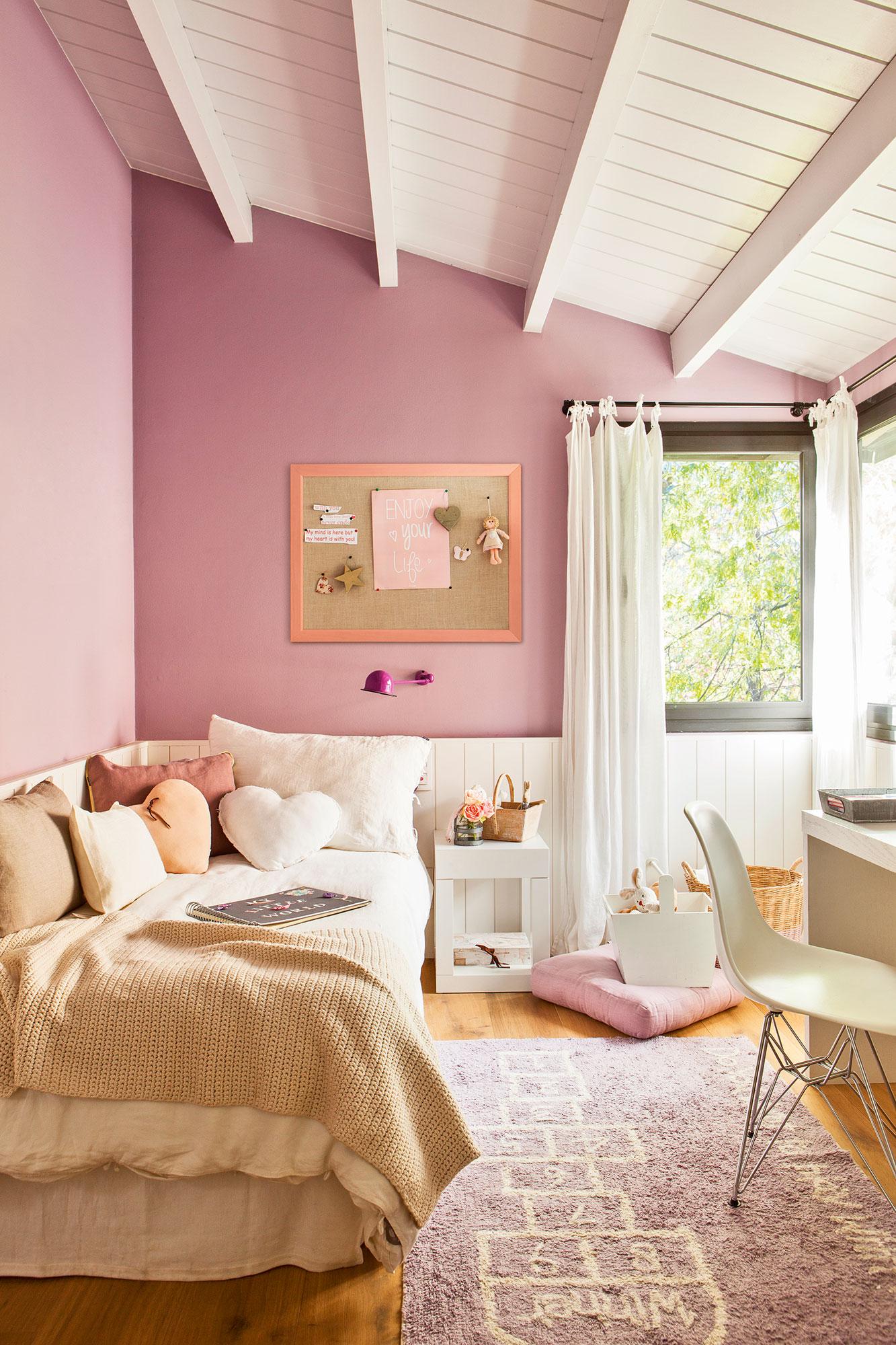 Pintar tu casa claves para acertar al elegir el color y - Como pinto mi habitacion ...
