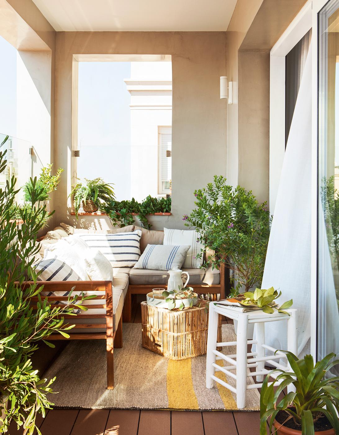 10 terrazas peque as pero bien aprovechadas for Piedras pequenas para decorar