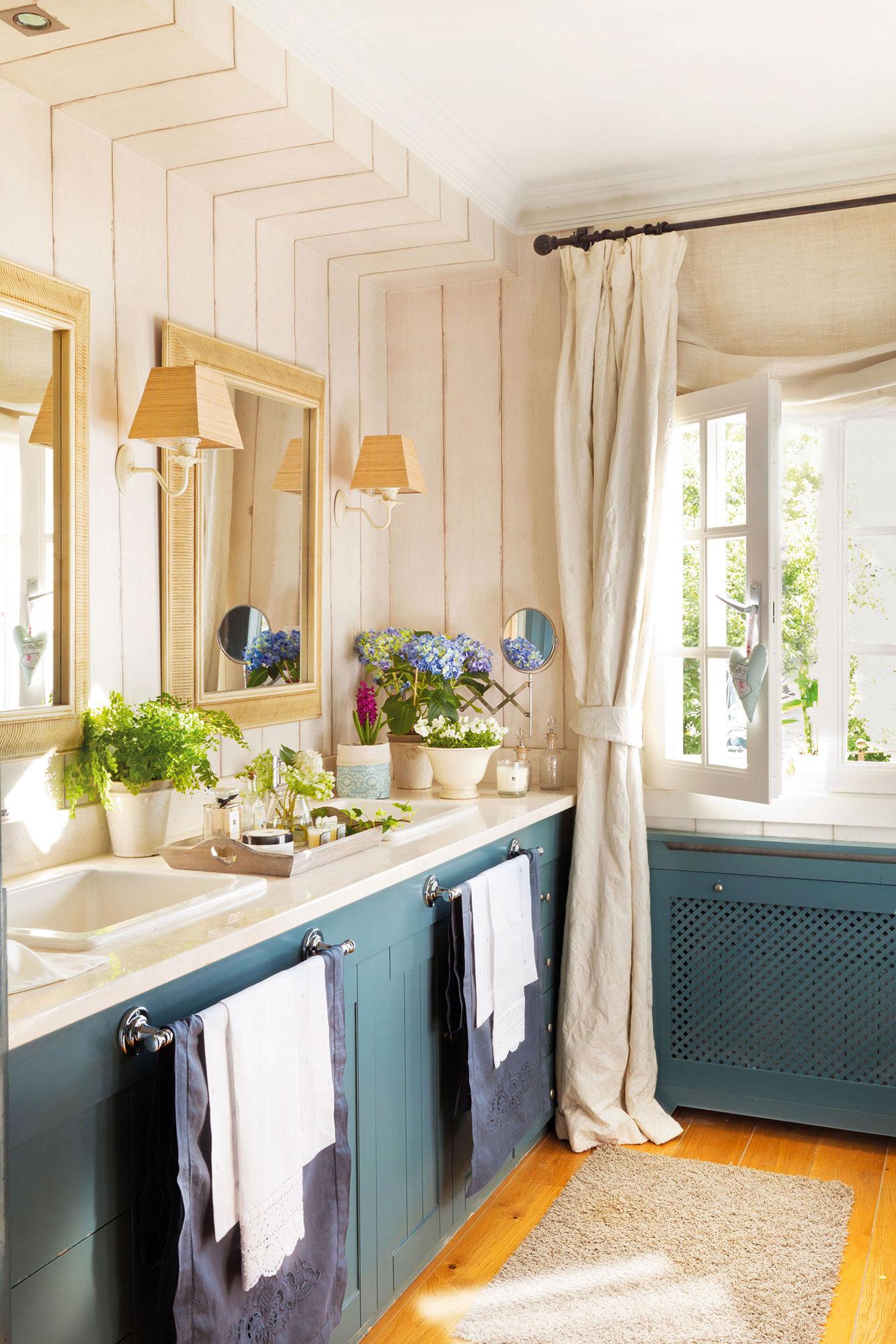 Una casa sana plantas que limpian el aire y purifican el - Como decorar un mueble con papel pintado ...