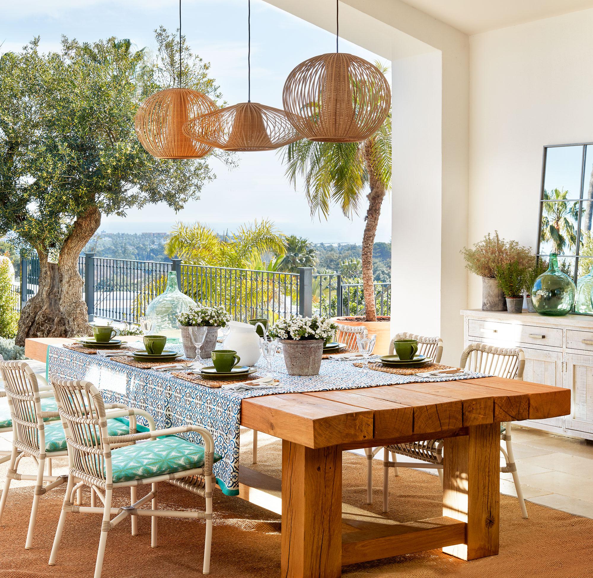 Una casa r stica de estilo mediterr neo en sotogrande for Muebles para casa de campo